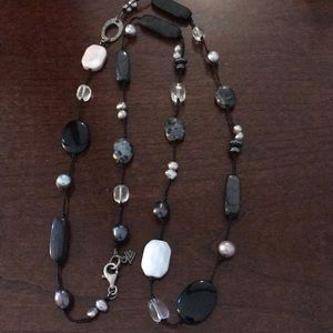 Vintage Silpada stone necklace